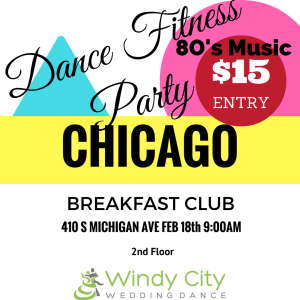 Image of Advertisement for Breakfast Club Dance Fitness Party