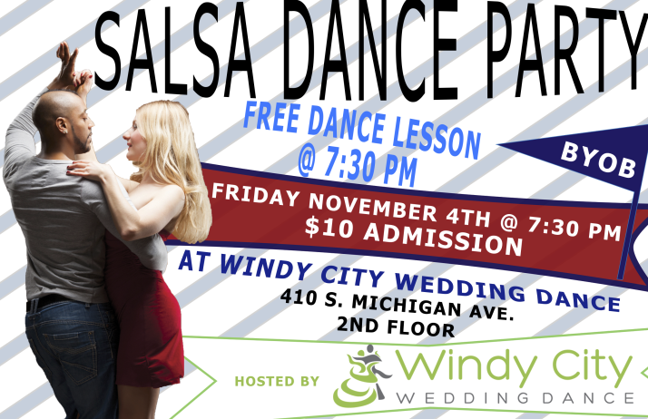 Salsa Dance Party Windy City Wedding Dance November 4th 2016