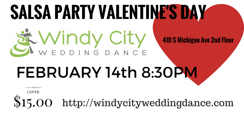 SALSA PARTY VALENTINE'S DAY