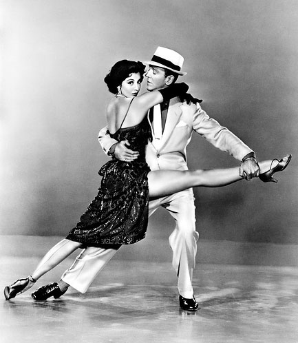 Photo of Ballroom Dance Couple in Black and White