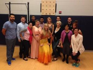 Group Dance Class Image Fall 2014