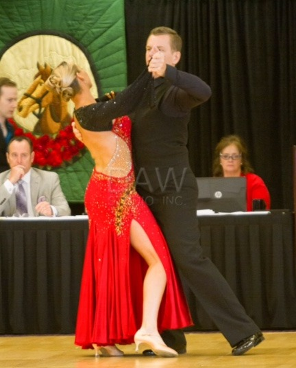 Photo of John Smith and Jessica from Louisville Competition