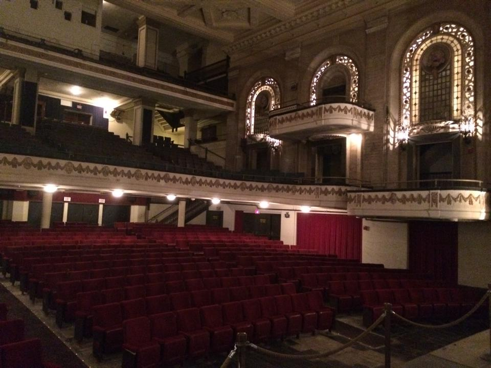 Image of the Studebaker Theatre during the Architecture Tour in Chicago
