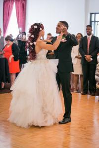 Image of wedding dance couple angela and matt