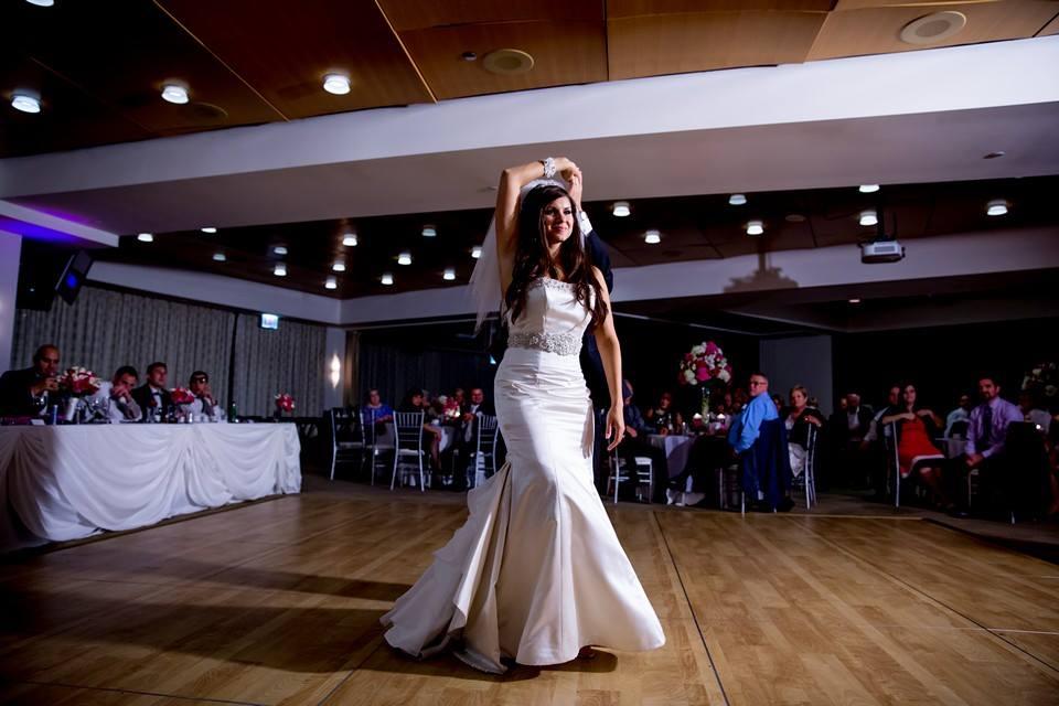 Danielle and Patrick Wedding Dance Rumba