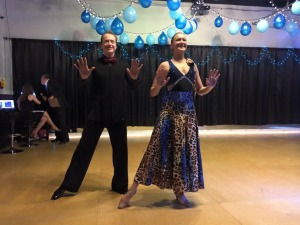 Image of Alesha and Jay Quick Step Ballroom Dance