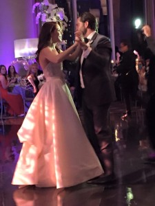 Image of Windy City Wedding Dance Couple who married at Trump Tower