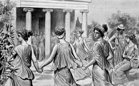 Ancient Greek Dance Image