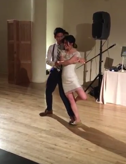 How to Rock A Wedding Dance Jess & Chris