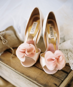 Trendy Summer Wedding Shoes 2016 Rose