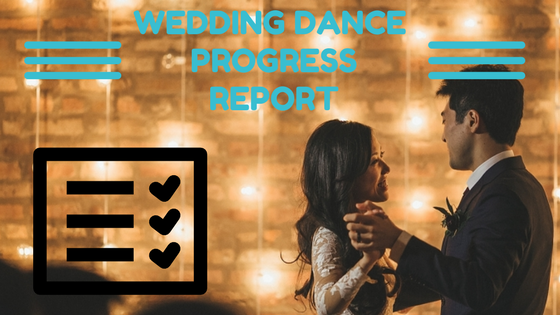 Image of Wedding Dance Progress Report