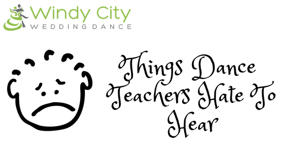 Image used on Blog titled Things Dance Teachers Hate To Hear