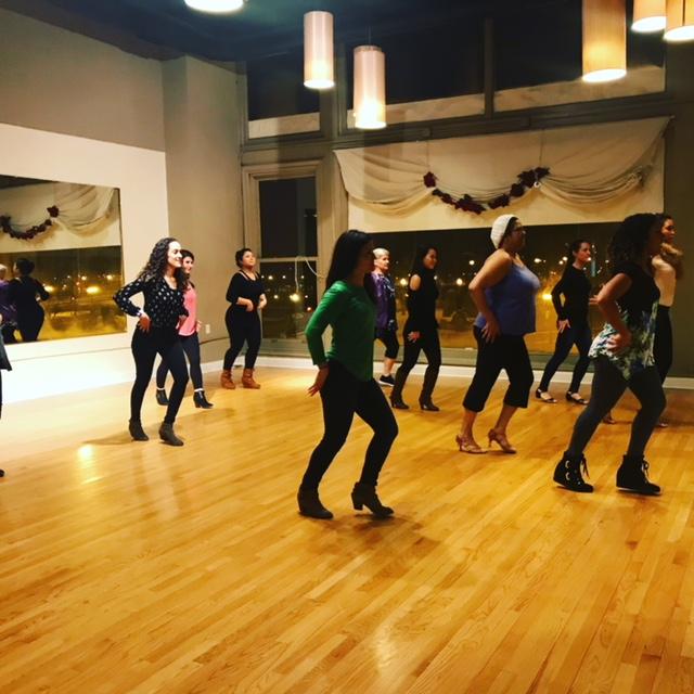 2018 Chicago Winter Salsa Dance Classes -1