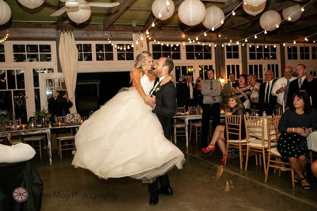 Image of a wedding dance couple who took dance lessons